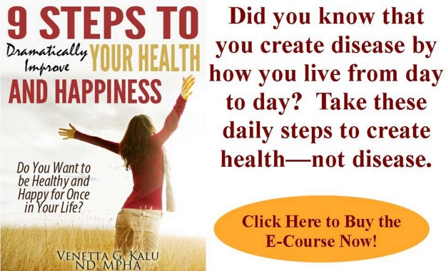 Nine Steps to Dramatically Improve Your Health and Happiness ECourse