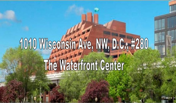 The Waterfront Center on 1010 Wisconsin Ave., NW